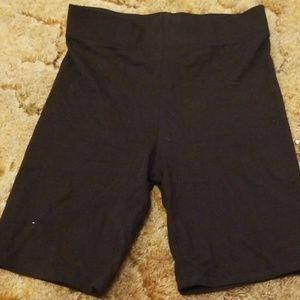 Forever 21 // Black Biker Shorts